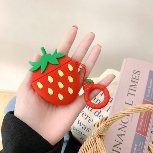 Strawberry AirPods Case Shock Proof Cover
