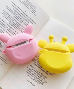 Teddy Bear in a Pig Costume Premium AirPods Case Shock Proof Cover