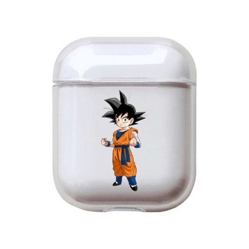 Dragon Ball Z | DBZ 'Goten' Clear Acrylic AirPods Case Shock Proof Cover