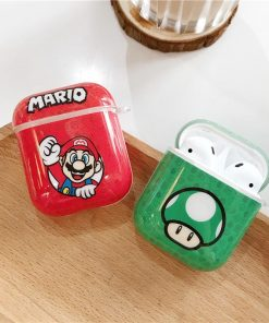 Super Mario Bros AirPods Case Shock Proof Cover