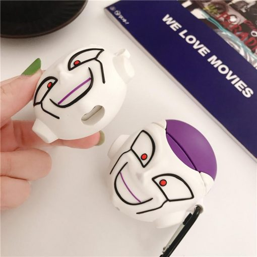 Dragon Ball Z 'Smiling Frieza' Premium AirPods Case Shock Proof Cover