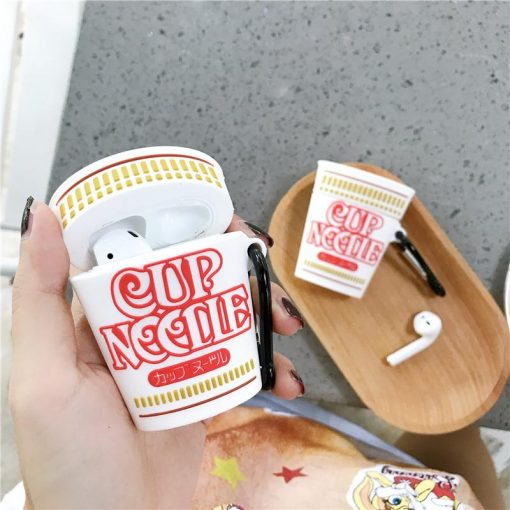 Cup Noodles Instant Premium AirPods Case Shock Proof Cover