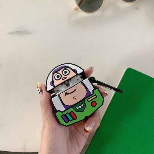 Toy Story 'Buzz Lighyear Comic Cutout' Premium AirPods Case Shock Proof Cover
