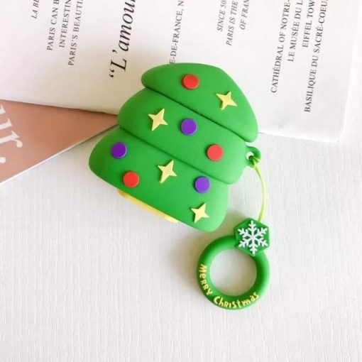 Christmas 'Christmas Tree' Premium AirPods Case Shock Proof Cover