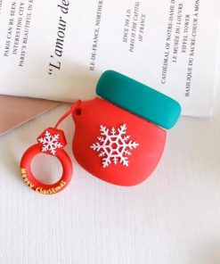 Christmas Mitten Premium AirPods Case Shock Proof Cover