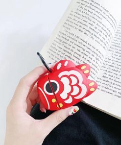Red Coy Fish Premium AirPods Case Shock Proof Cover