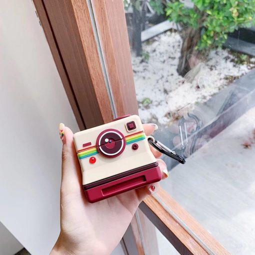 Classic Polaroid Premium AirPods Case Shock Proof Cover