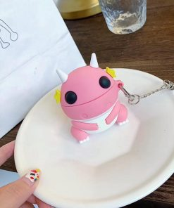 Pink Sea Dragon Premium AirPods Case Shock Proof Cover