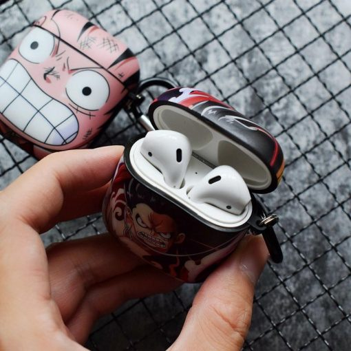 One Piece 'Angry Monkey D. Luffy' AirPods Case Shock Proof Cover