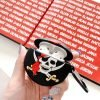 Pirate Skull with Red Bandanna Premium AirPods Case Shock Proof Cover