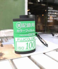 Retro Fuji Film Premium AirPods Case Shock Proof Cover