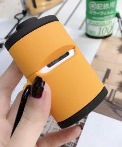 Retro Kodak Film Premium AirPods Case Shock Proof Cover