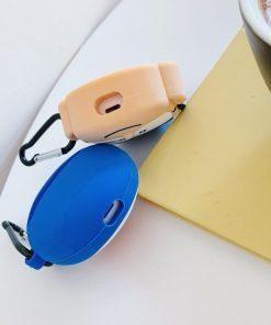 Doraemon 'Dark Blue Laughing' Premium AirPods Case Shock Proof Cover