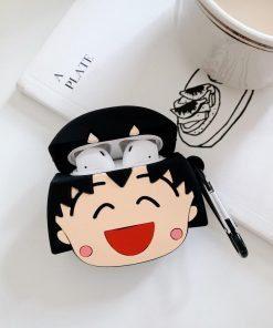 Doraemon 'Tamako Kataoka' Premium AirPods Case Shock Proof Cover