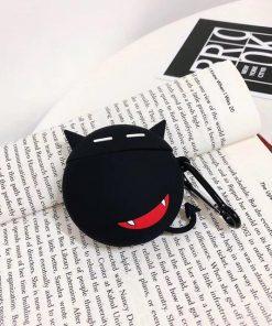 Black Little Devil Premium AirPods Case Shock Proof Cover