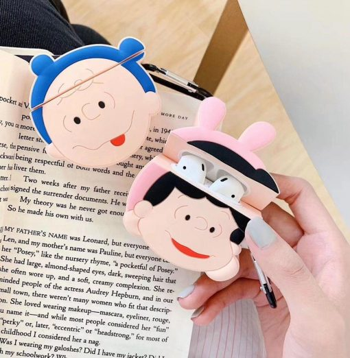 Charlie Brown 'Lucy In Costume' Premium AirPods Case Shock Proof Cover