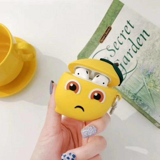 Sad Lemon Premium AirPods Case Shock Proof Cover