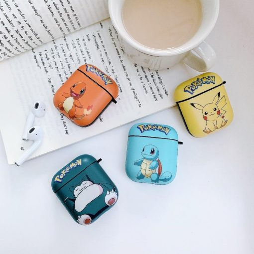 Pokemon Squirtle 'Light Blue' AirPods Case Shock Proof Cover