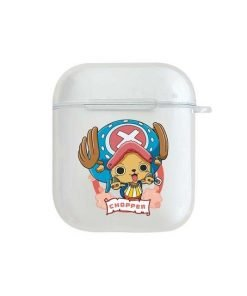 One Piece 'Tony Tony Chopper' Clear Acrylic AirPods Case Shock Proof Cover