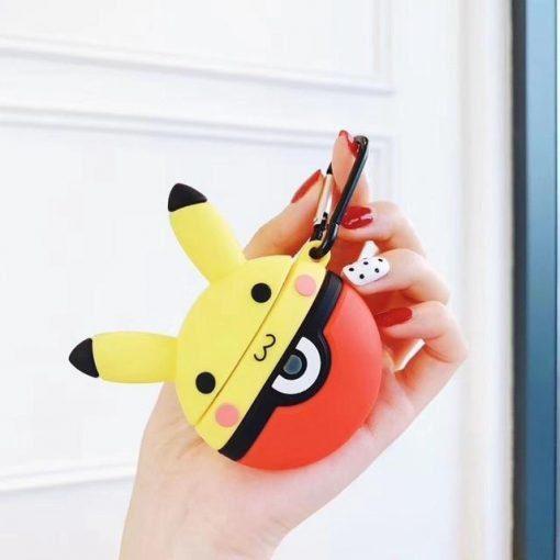 Pokemon 'Pikachu in a Pokeball' Premium AirPods Case Shock Proof Cover