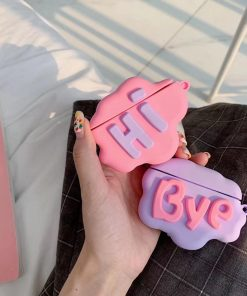 Cute 'Bye' Premium AirPods Case Shock Proof Cover