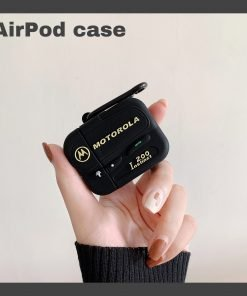 Classic Old School Motorola Beeper AirPods Case Shock Proof Cover