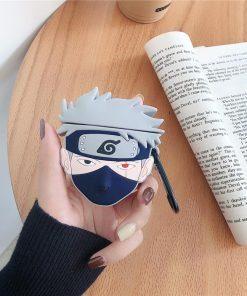 Naruto 'Kakashi Hatake' Premium AirPods Case Shock Proof Cover