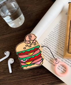 Charlie Brown 'Hamburger' Premium AirPods Case Shock Proof Cover