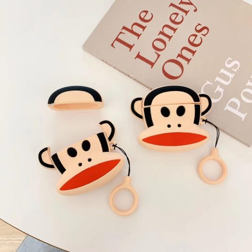 Cute Monkey Premium AirPods Case Shock Proof Cover