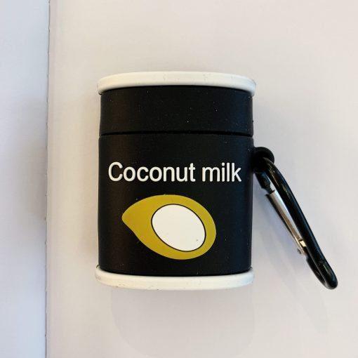 Coconut Milk Premium AirPods Case Shock Proof Cover