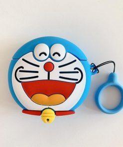 Doraemon 'Laughing' Premium AirPods Case Shock Proof Cover