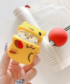 Pokemon 'Winking Pikachu' Premium AirPods Case Shock Proof Cover