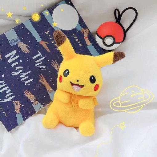 Pokemon 'Plush Furry Pikachu' Premium AirPods Case Shock Proof Cover