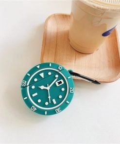 Rolex Watch Face Premium AirPods Case Shock Proof Cover