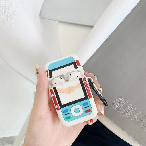 Classic Retro Nokia Phone Premium AirPods Case Shock Proof Cover