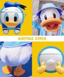 Cute Baby Donald 'Front and Butt' Premium AirPods Case Shock Proof Cover