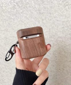 Exotic Wood AirPods Case Shock