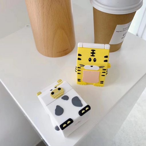 Cute Cow Milk Carton Premium AirPods Case Shock Proof Cover