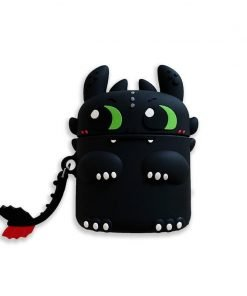How to Train Your Dragon 'Night Fury aka Toothless' Premium AirPods Case Shock Proof Cover