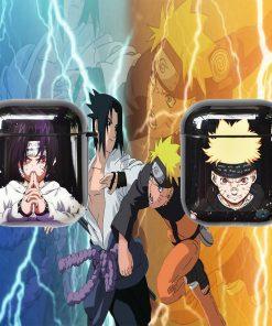 Naruto 'Sasuke' High Gloss AirPods Case Shock Proof Cover
