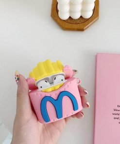 Cute French Fries Premium AirPods Case Shock Proof Cover