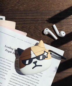 Cool Cat Premium AirPods Case Shock Proof Cover