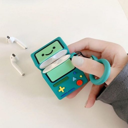 Adventure Time 'BMO' Premium AirPods Case Shock Proof Cover