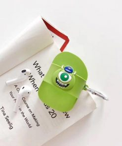 Monsters Inc. 'Mike Wizowski Flip Flop' Premium AirPods Case Shock Proof Cover