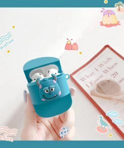 Monsters Inc. 'Sully Flip Flop' Premium AirPods Case Shock Proof Cover