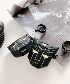 Transformers 'Autobots Emblem   Glow in the Dark' Premium AirPods Case Shock Proof Cover