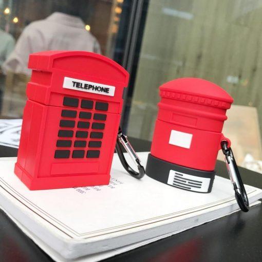 British Mailbox Premium AirPods Case Shock Proof Cover