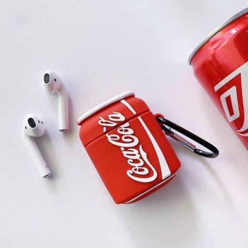 Coca Cola Premium AirPods Case Shock Proof Cover