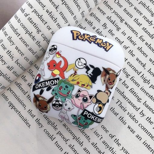 Pokemon 'Catch Em All' AirPods Case Shock Proof Cover