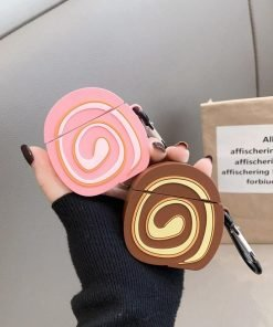 Swirl Bread Premium AirPods Case Shock Proof Cover